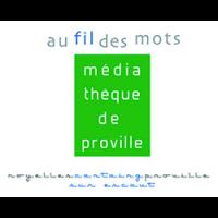 logo médiathèque au fil des mots